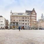 View of the Dam square, Amsterdam — Stock Photo #67958021