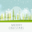 Poster, banner and card for Merry Christmas. — Stock Vector #58018395