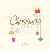Poster and banner for Christmas time. — Stockvector