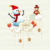 Poster and banner for Christmas celebration. — Stock Vector
