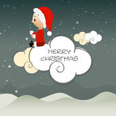 Poster and banner for Merry Christmas. — Stockvektor