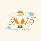 Happy New Year 2015 celebrations. — Stock Vector