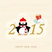 Happy New Year 2015 celebrations. — Vector de stock