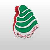 Firandet av god jul festival. — Stockvektor