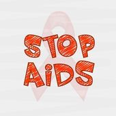 Poster or banner design for World Aids Day. — Wektor stockowy