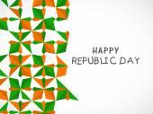 Indian Republic Day celebration concept. — Stockvektor