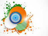 Indian Republic Day and Independence Day celebrations concept. — ストックベクタ