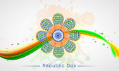 Indian Republic Day celebration concept. — ストックベクタ