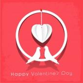 Valentine's Day celebration concept. — Stock Vector