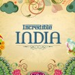 Постер, плакат: Poster or banner design of Incredible India