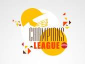 Poster or banner for Cricket Champions League.  — Vetor de Stock