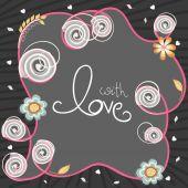 Happy Valentines Day celebration concept. — Wektor stockowy