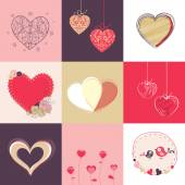 Happy Valentine's Day celebration collection. — Wektor stockowy