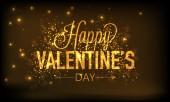 Happy Valentines Day celebration. — Stock Vector