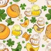 Happy St. Patrick's Day celebration background. — Stock Vector