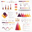 Set of infographics elements for business. — Stock Vector #67874691