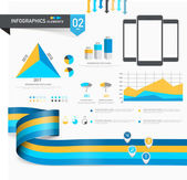 Set of creative business infographics. — Stock Vector