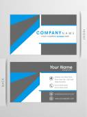 Creative visiting card or business card design. — Stock Vector