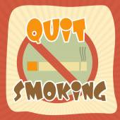 Poster, banner or flyer for No Smoking Day. — Stock Vector