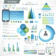 Set of Business Infographic elements. — Stock Vector #71184499