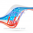 American Independence Day celebration. — Stock Vector #71924315
