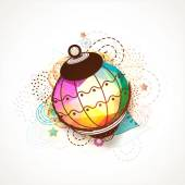 Creative colorful lantern for Ramadan Kareem. — Stock Vector