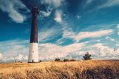 Lighthouse against  beautiful cloudscape  — Stock Photo