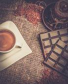 Coffee theme still-life — Stock Photo