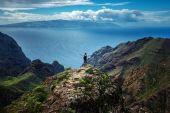Background of the beautiful mountain landscape — Stock Photo