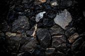Stones' texture — Stock Photo