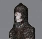 Skeleton in the armour — Stock Photo