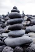 Stones' pyramid  — Foto de Stock