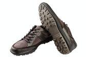 Combined  man's shoes — Foto de Stock