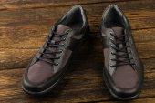Sapatos do homem combinada — Fotografia Stock
