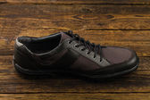 Combined  man's shoe — Stock Photo