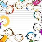Happy kids — Stock Vector #72644123