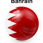 Bahrain official state flag — Stock Vector #73118357