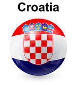 Croatia official state flag — Stock Vector