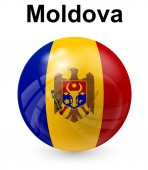 Moldova official state flag — Stock Vector