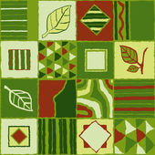 Organic decorative background — Stock Vector