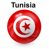 Tunisia flag — Stock Vector