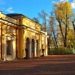 Pavilion in Summer garden in St-Petersburg, — Stock Photo #69349637