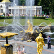 The Grand Cascade, palace and Samson Fountain in Peterhof, — Stock Photo #71658003