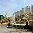 The Grand Cascade, palace and Samson Fountain in Peterhof, — Stock Photo #71658147