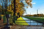Channel near Summer garden in St.-Petersburg, — Stock Photo
