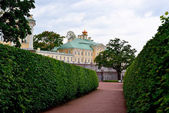 Grand Menshikov palace in  Oranienbaum, Lomonosov, St-Petersbur — Stock Photo