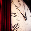 Large clock on the wall — Stock Photo #61780669