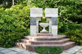 Monument to the workers of the Nikitsky Botanical Gardens, died  — Stock Photo