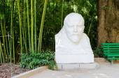 Monument to Lenin in the Nikitsky botanical garden. — Stock Photo