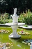 Fountain. Nikita Botanical Garden. Crimea, Yalta. — Stock Photo